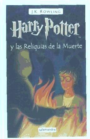 harry potter y las reliquias de la muerte(libro infantil y j