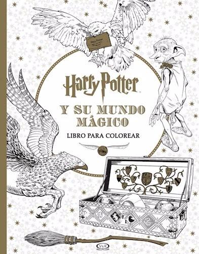 Harry Potter Y Su Mundo Magico Para Colorear Rob Bliss - $ 295,00 en ...