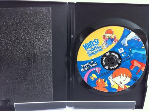 harry y su cubeta de dinosaurios dvd original 1aj