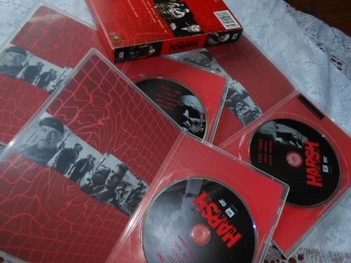 harsh the ultimate mind game box original importado 3 dvd's