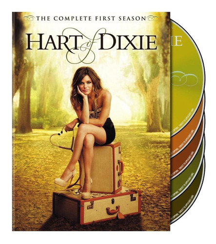 hart of dixie temporada 1 uno serie tv discos en dvd