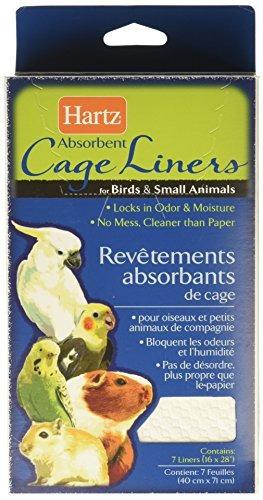 hartz revestimientos de jaulas absorbentes para aves y anima
