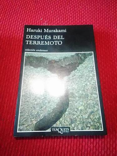 haruki murakami - despues del terremoto