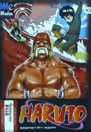 haruto 10 (parodia naruto)(libro )