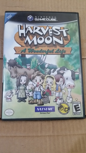 harvest moon a wonderful life nintendo gamecube