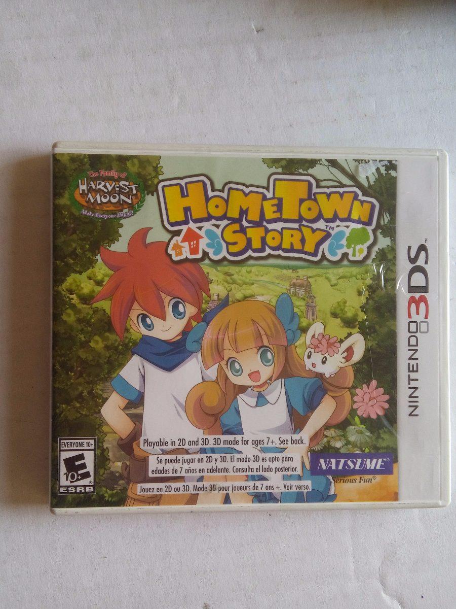 Harvest Moon Hometown Story 3ds Nintendo N3ds Trqs Home ...