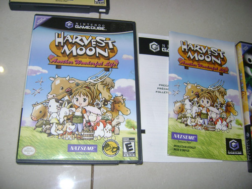 harvest moon:another wonderful life americano e completo .