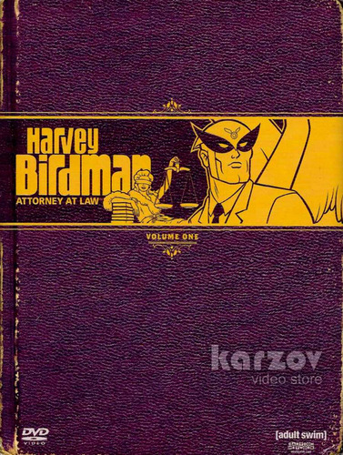 harvey birdman abogado attorney at law volumen 1 uno dvd
