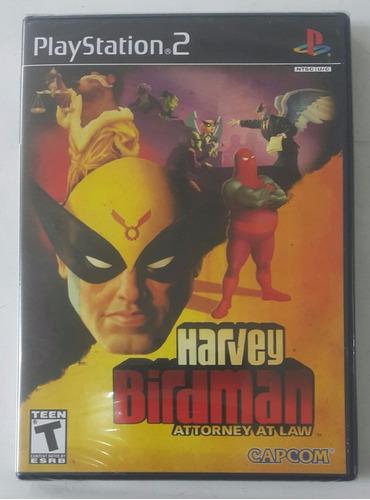 harvey birdman * attorney at law / playstation 2 ps2 * nuevo