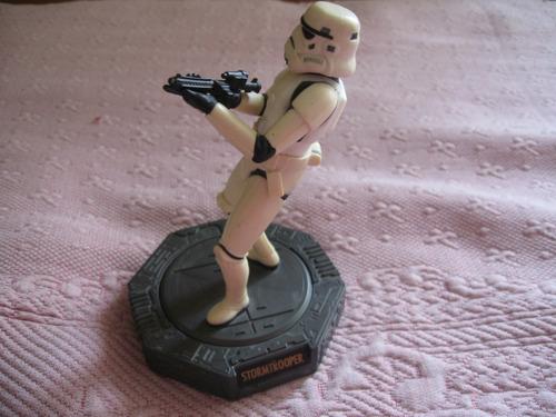 hasbro 1998 star wars stormtrooper 6 inch statue w movement
