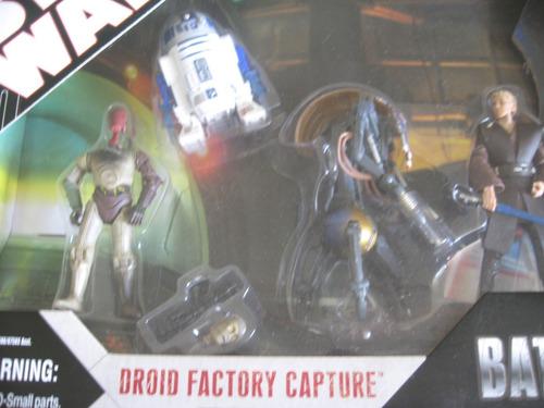 hasbro 2007 droid factory capture battle packs aotc