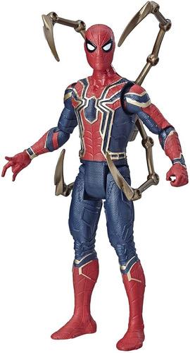 hasbro avengers infinity hombre araña 15cm iron spider