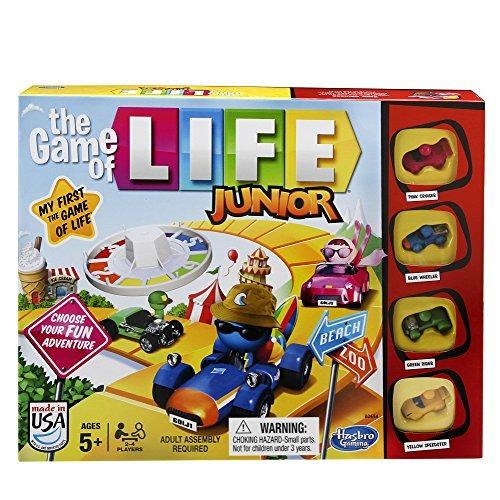 Hasbro Gaming Juego De Junior Game Of Life 64 599 En Mercado Libre