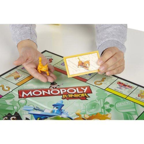Hasbro Gaming Juego De Mesa Monopoly Junior Nuevo 1 070 00 En