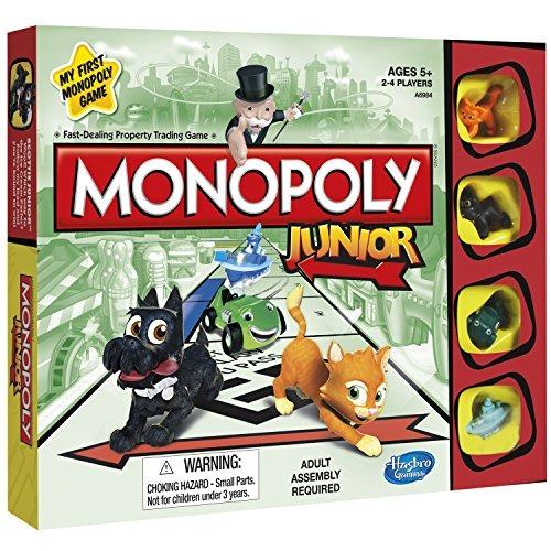 Hasbro Gaming Juego De Mesa Monopoly Junior Nuevo 1 060 00 En