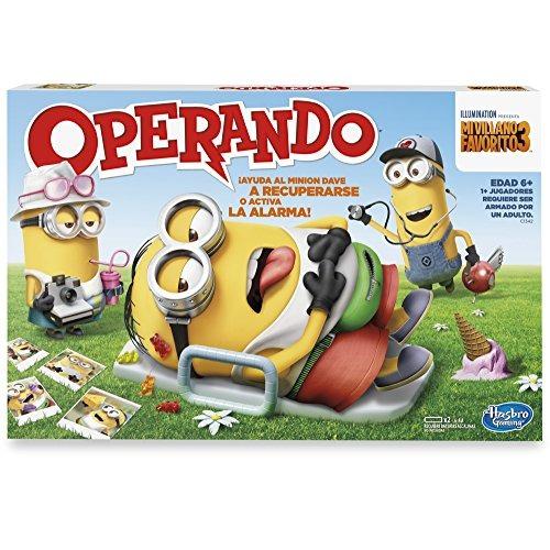 Hasbro Gaming Juego De Mesa Operando Minions Nuevo 1 340 00 En