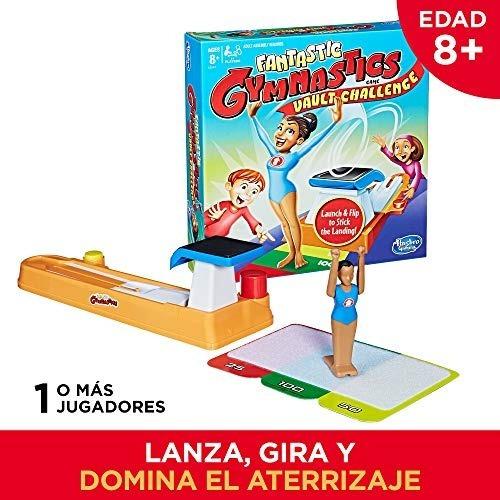 Hasbro Gaming Juego De Mesa Super Gimnasta El Desafio 1 060 00