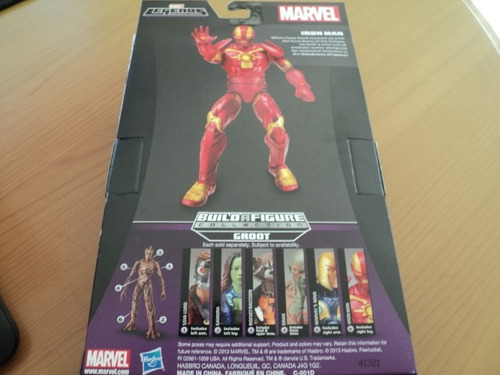 hasbro guardianes de la galaxia iron man