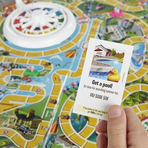Hasbro Juego De Mesa The Game Of Life Nueva Tamano Non 54 856 En