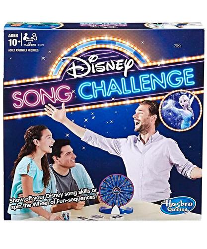 hasbro juego desafio de canciones disney songs challenge