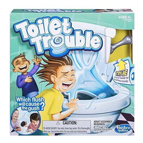 Hasbro Juegos Toilet Trouble 37 699 En Mercado Libre