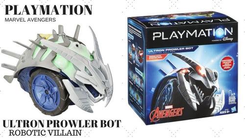 hasbro marvel avengers playmation ultron prowler bot