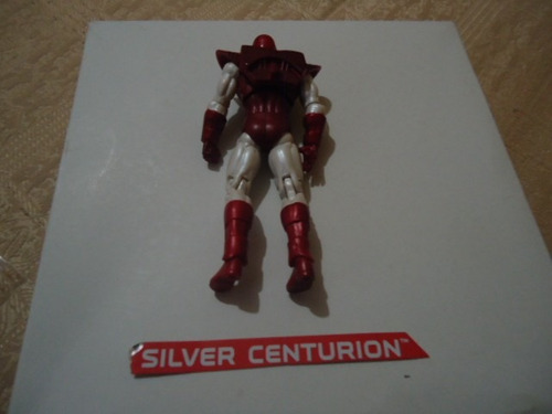 hasbro marvel universe silver centurion comic pack