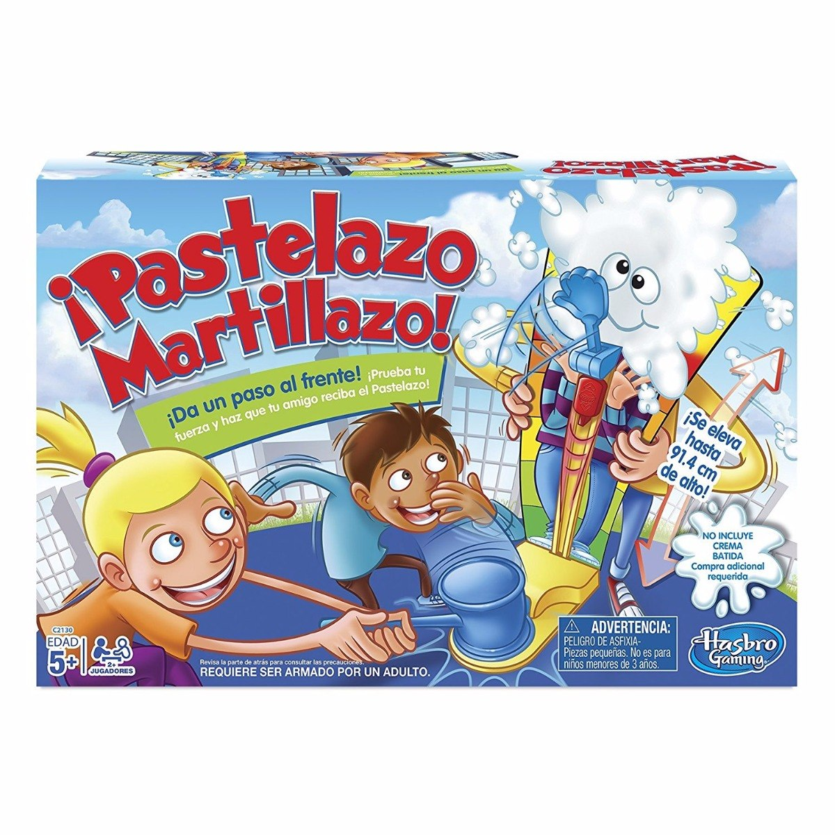Hasbro pastelazo martillazo juego de mesa en for Cazafantasmas juego de mesa