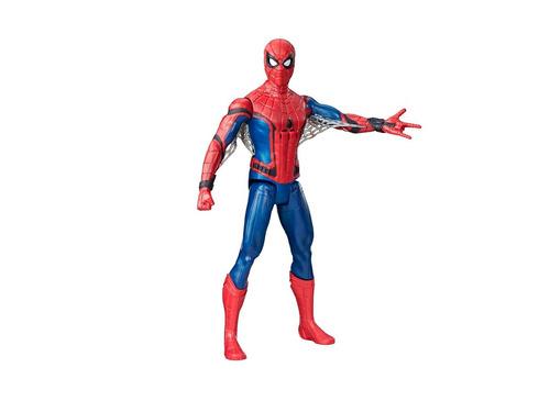 hasbro spiderman interactivo con sonidos y frases