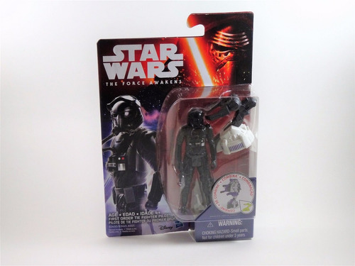 hasbro star wars space mission first order tie fighter