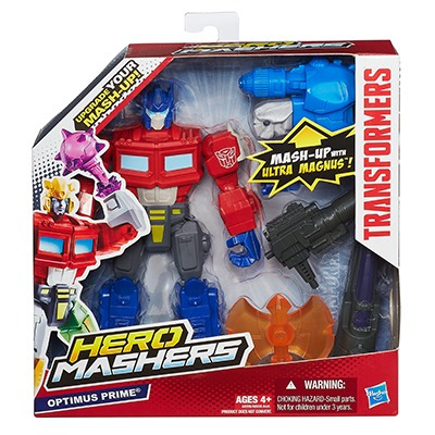 hasbro transformers mashers bulkhead, 7 diferentes