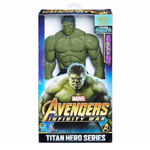 hasbro/avengers figura titan hero hulk 30cm