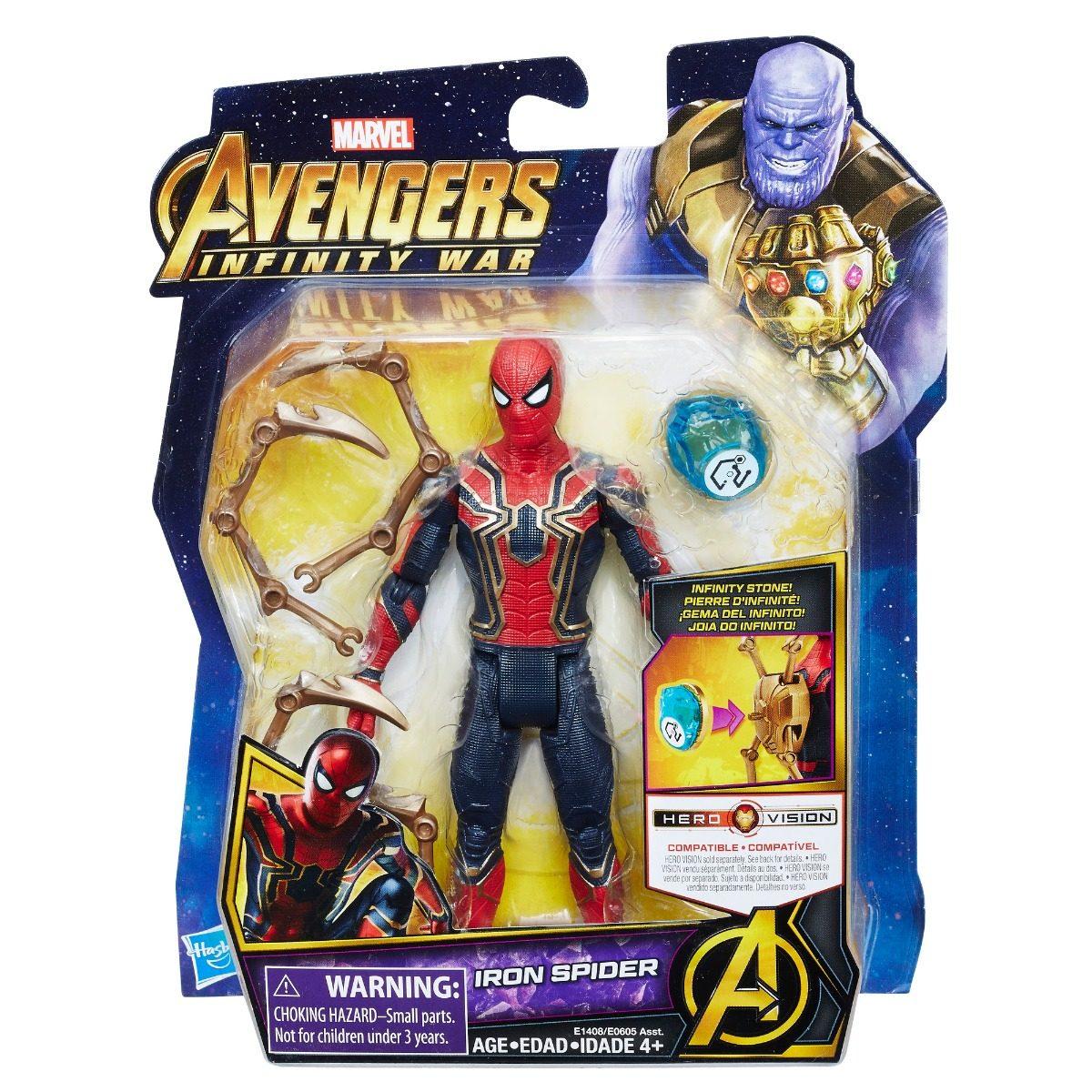 Hasbro Avengers Figuras Con Accesorios Iron Spider S 59
