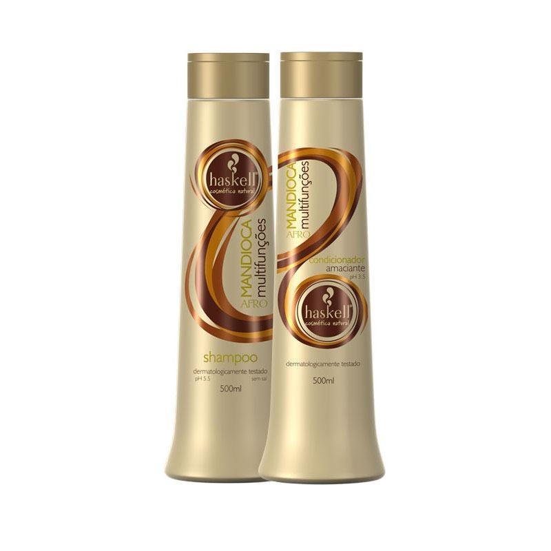cda24807c haskell mandioca afro shampoo 500ml + condicionador 500ml. Carregando zoom.