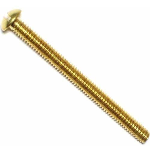 8-32 x 2-Inch Hard-to-Find Fastener 014973130930 Slotted Round Machine Screws