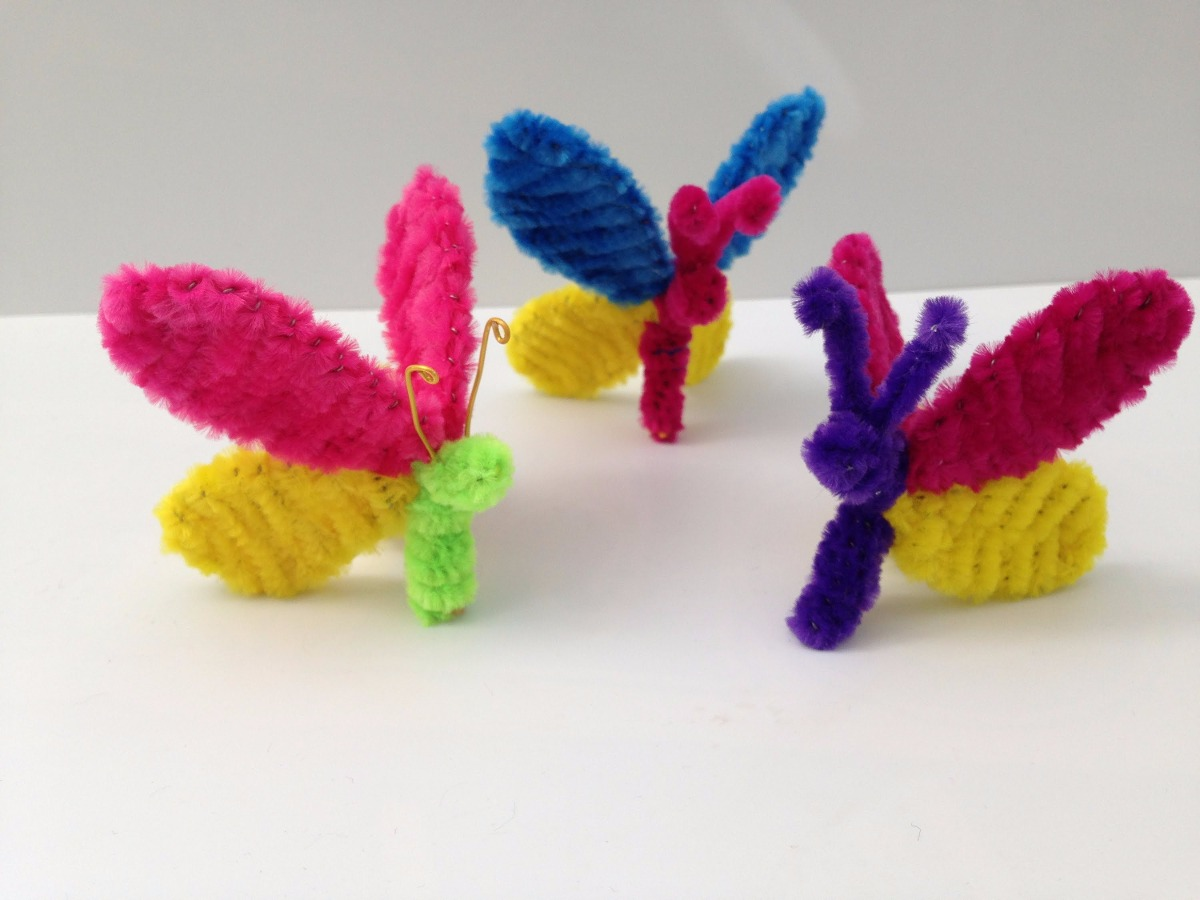 How To Make A Ring Out Of Pipe Cleaners
