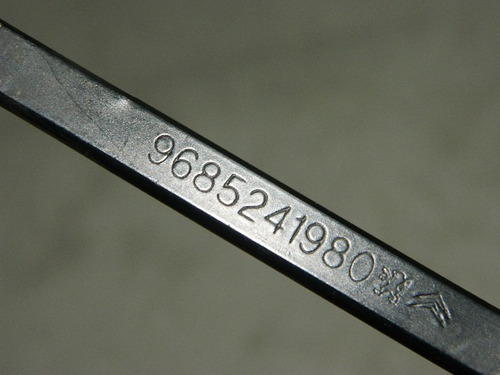 haste limpador parabrisa - citroen c3 -9685241980- 3266 c