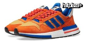realmente cómodo mirada detallada zapatillas de deporte para baratas Hat Plaza Zapatillas adidas Dragonball Zx500 Rm Goku
