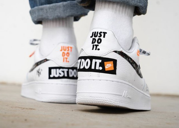 Hat Plaza Zapatillas Mujer Nike Air Force 1 Just Do It -   6.500 0e5e9fdbb67b