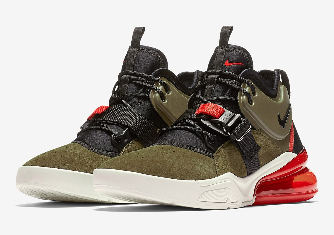 1d5603d8e07 hat plaza zapatillas nike air force 270 medium olive. Cargando zoom.