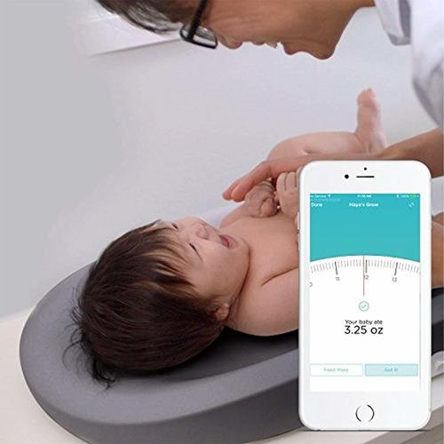 hatch - cambiador y báscula para bebé