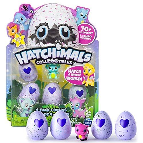 hatchimals -  4-pack + bonus.