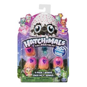 Hatchimals Colleggtibles Season 4 Blister 4 Ovos + Brinde