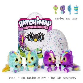 Hatchimals Hatchibabies Chettere, Ponette, Monkiwi Spin Mast