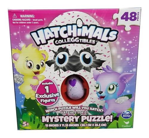 hatchimals puzzle x 48 pzas + 1 mini figura 98470 edu
