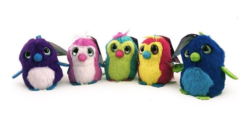 hatchimals serie 1 muñecos minis peluches varios modelos