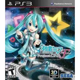 Hatsune Miku: Project Diva F Ps3 (entrega Inmediata)