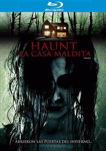 haunt la casa maldita terror pelicula en blu-ray