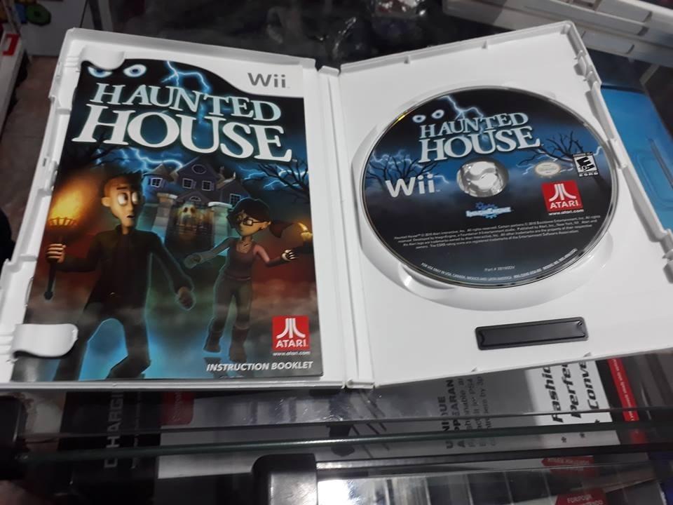 Haunted House Nintendo Wii - Jogo Original - Americano
