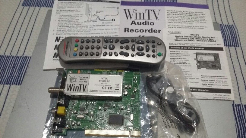 DRIVER FOR HAUPPAUGE WINTV 2000